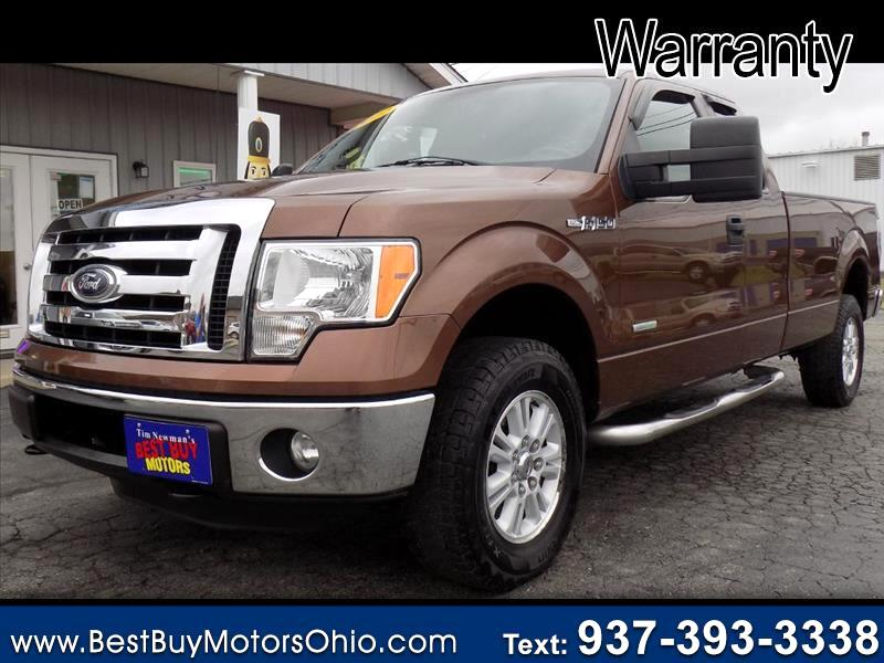 """Ford F-150 4WD SuperCab 163"""" XLT w/HD Payload Pkg 2012"""