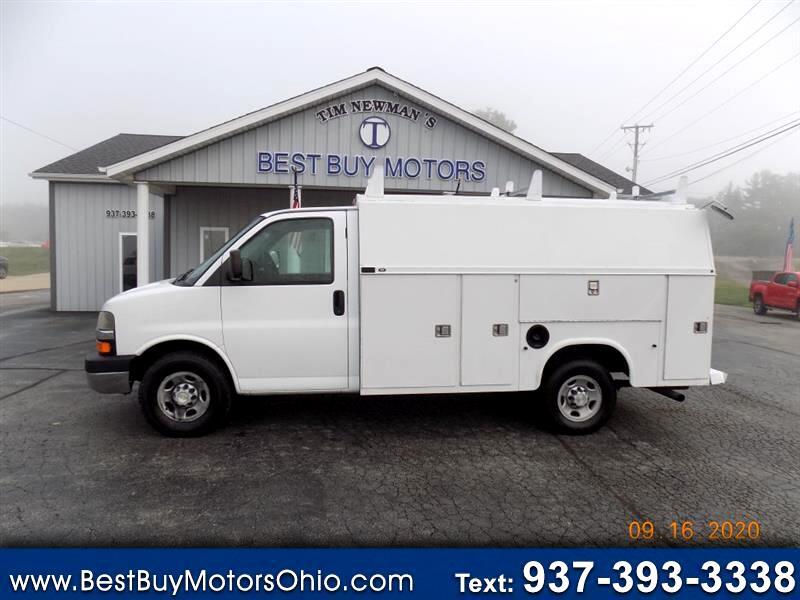 """Chevrolet Express Commercial Cutaway 139"""" WB C6Y SRW 2007"""