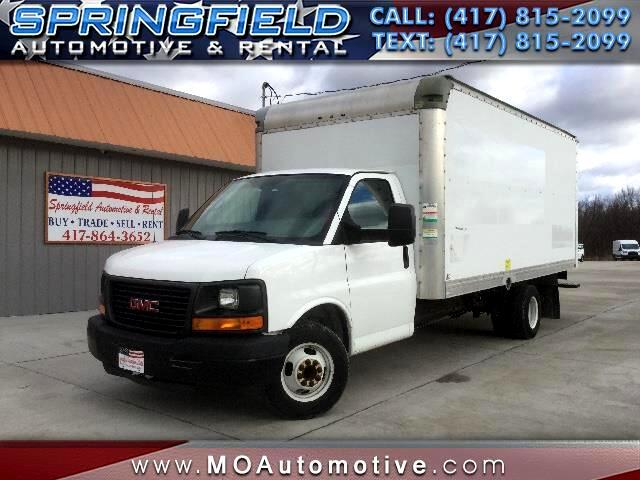 2011 GMC Savana G3500 17' Box Truck