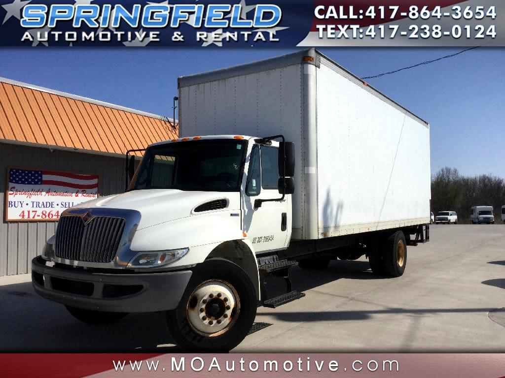 2011 International 4300 24'x10'x10' Box