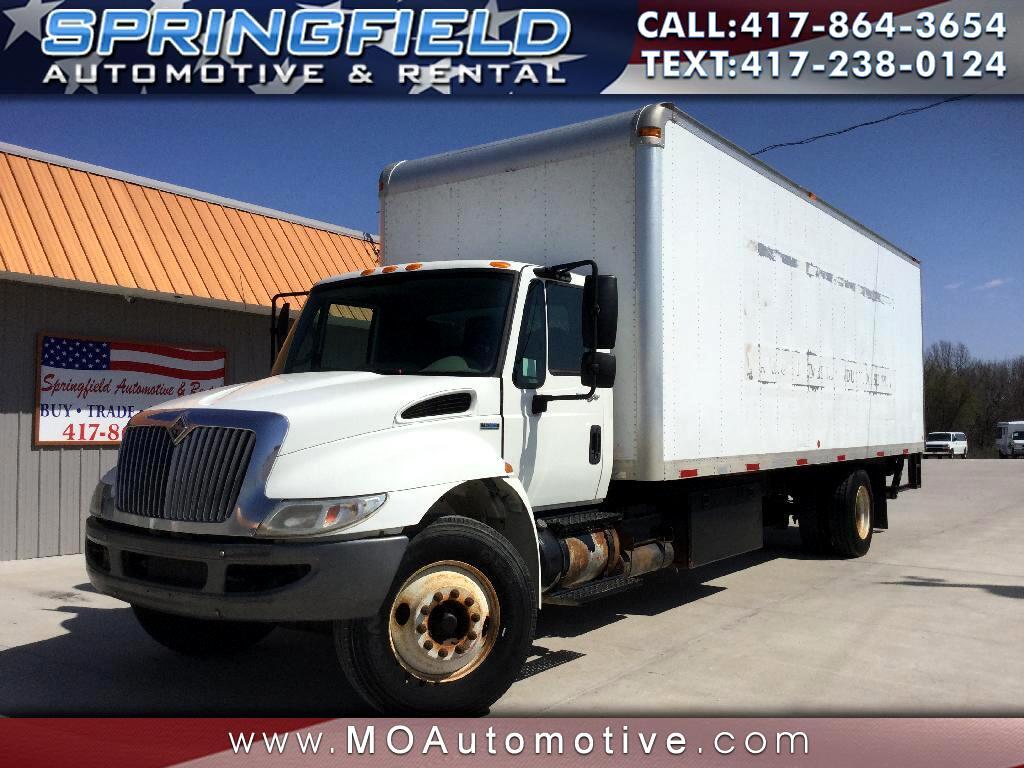 2008 International DuraStar 4300 26X8X8 Box Truck