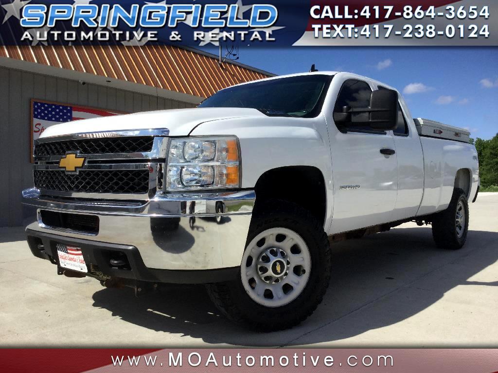 "2011 Chevrolet Silverado 3500HD 4WD Ext Cab 158.2"" DRW Work Truck"