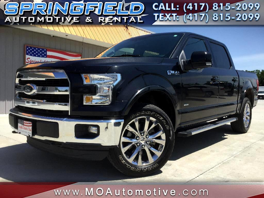 "2015 Ford F-150 4WD SuperCab 145"" Lariat"