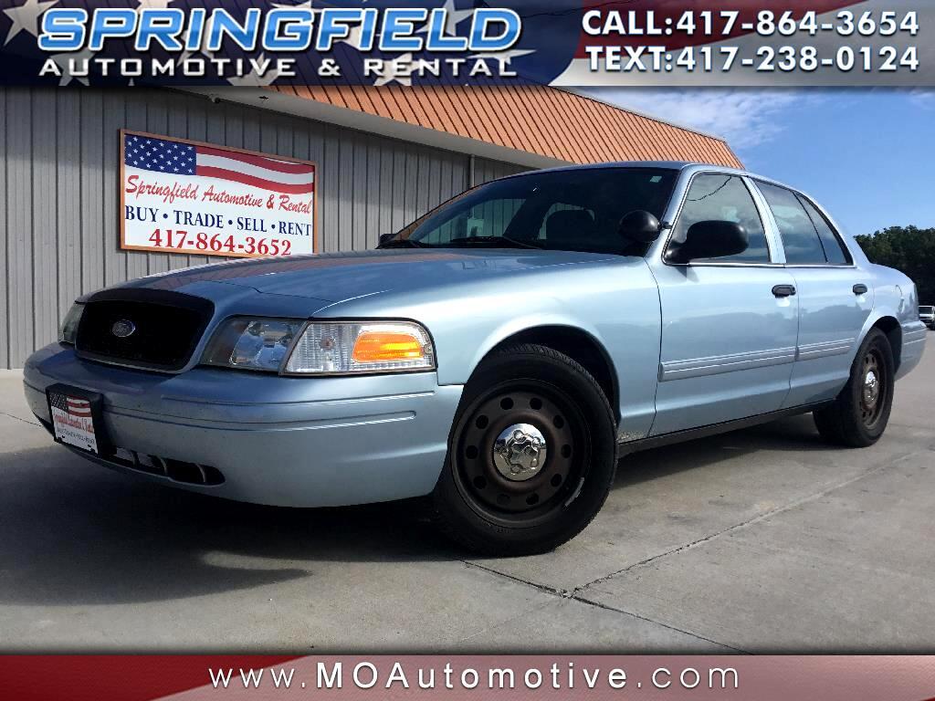 2011 Ford Police Interceptor 4dr Sdn w/3.27 Axle