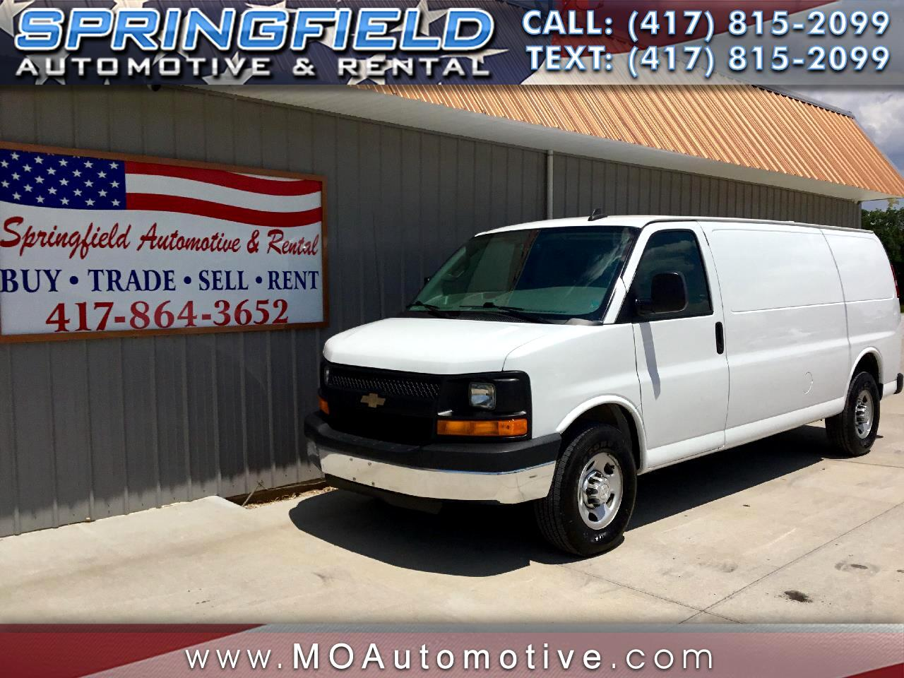 2016 Chevrolet Express 3500 Cargo Extended