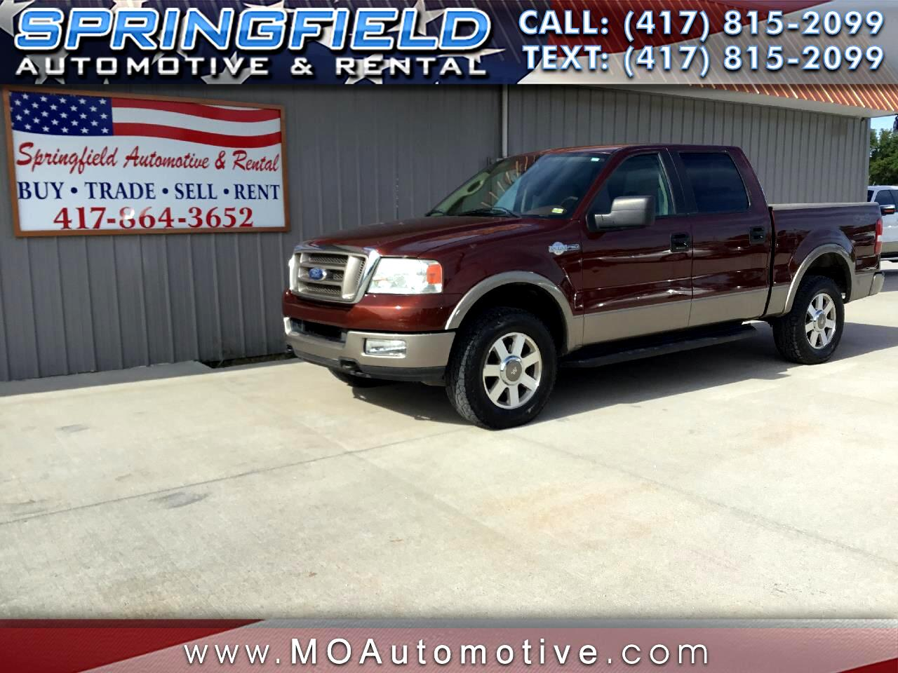 "2005 Ford F-150 4WD SuperCrew 139"" King Ranch"