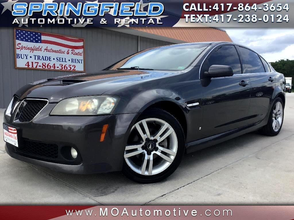 2008 Pontiac G8 4dr Sdn
