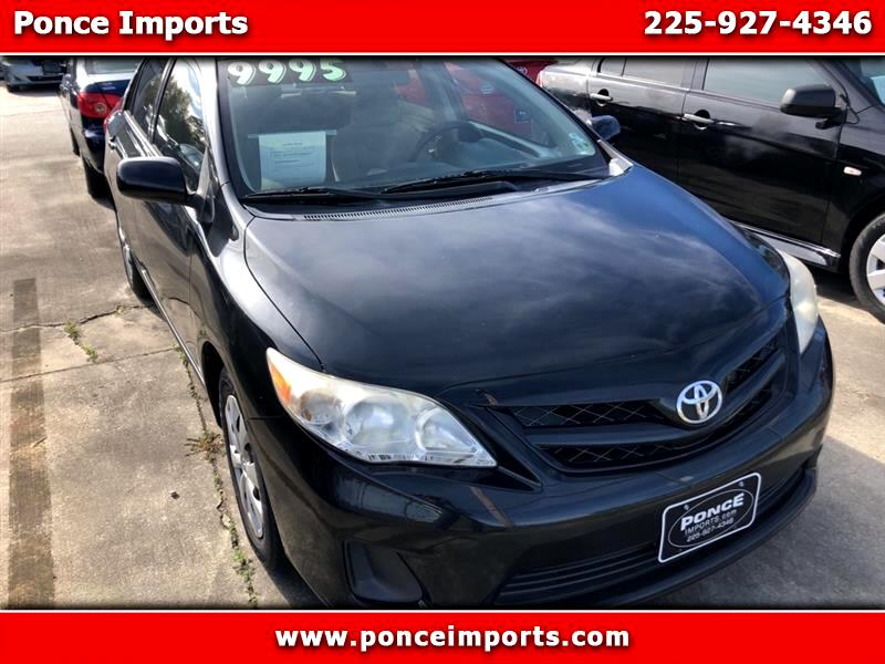 Toyota Corolla Base 5-Speed MT 2011