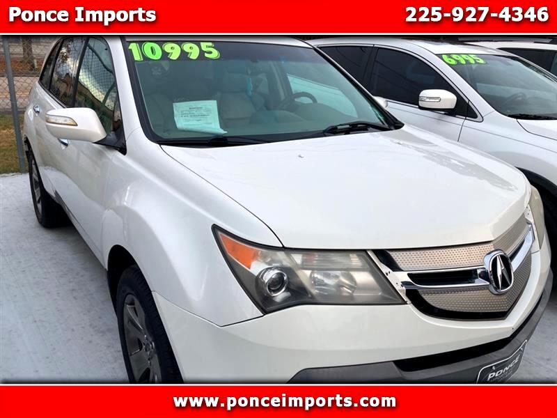 Acura MDX Sport Package with Rear DVD System 2008
