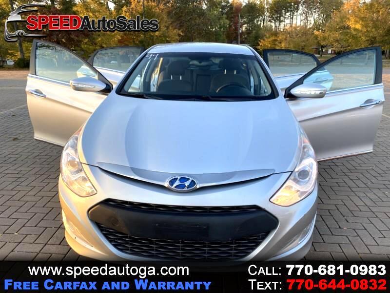 Hyundai Sonata Hybrid Sedan 2013