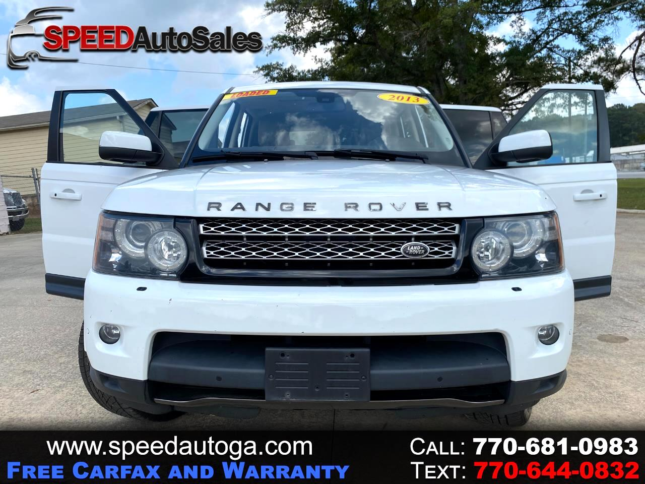 Land Rover Range Rover Sport HSE 2013