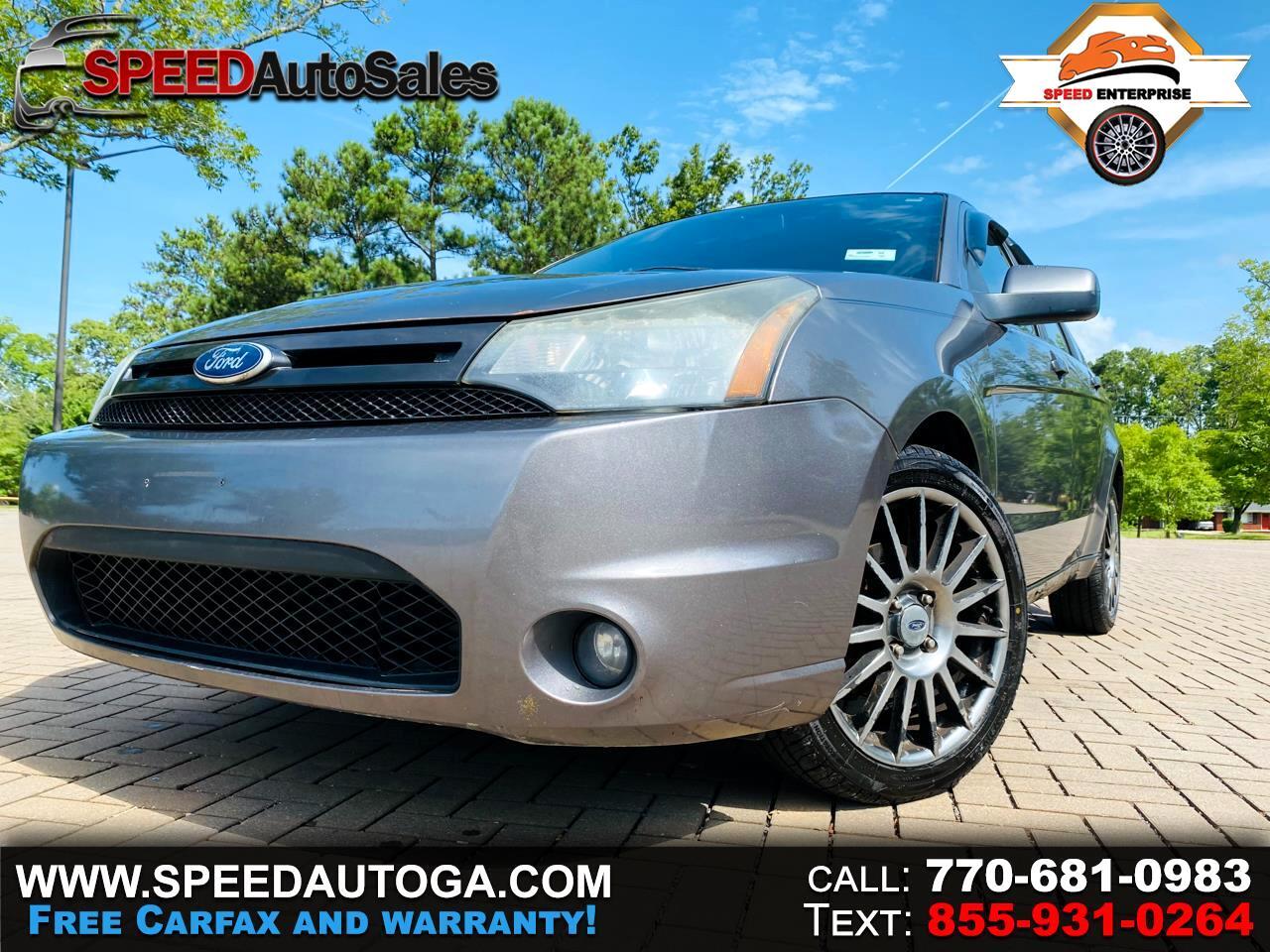 Ford Focus SES Sedan 2011