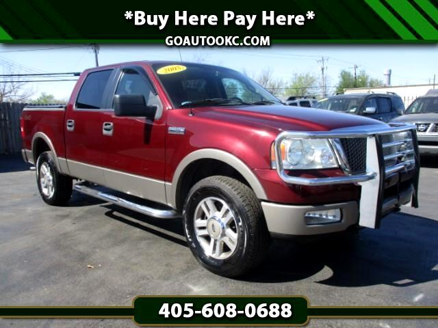 2005 Ford F-150 Lariat 4WD SuperCrew 5.5' Box