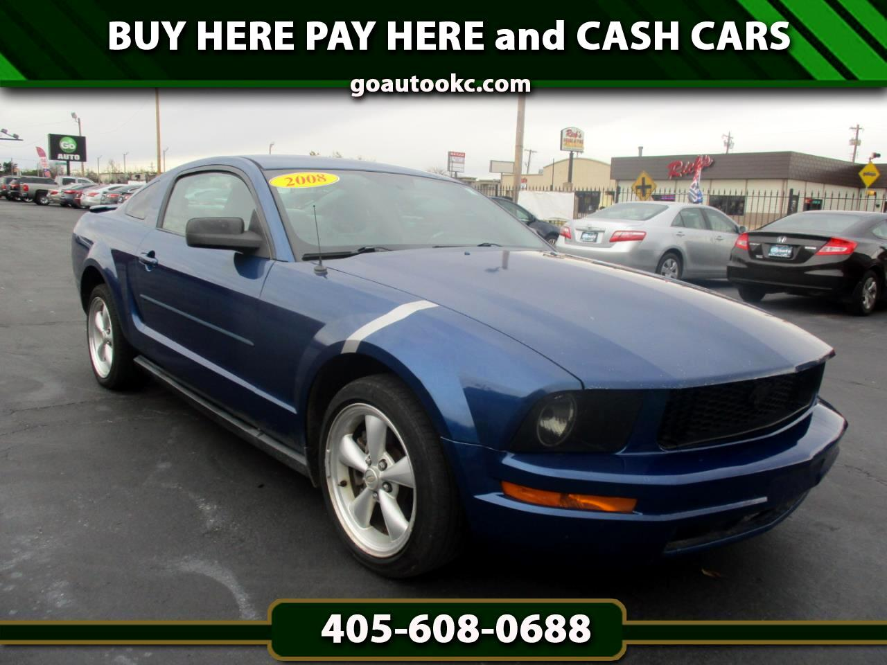 Ford Mustang 2dr Coupe 2008