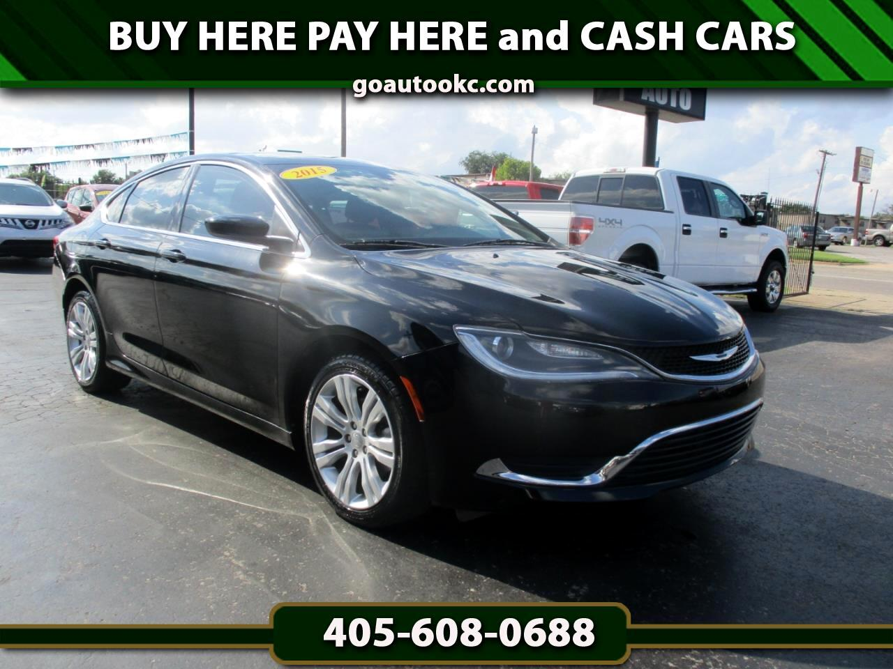 Buy Here Pay Here Okc >> Buy Here Pay Here 2015 Chrysler 200 Limited For Sale In