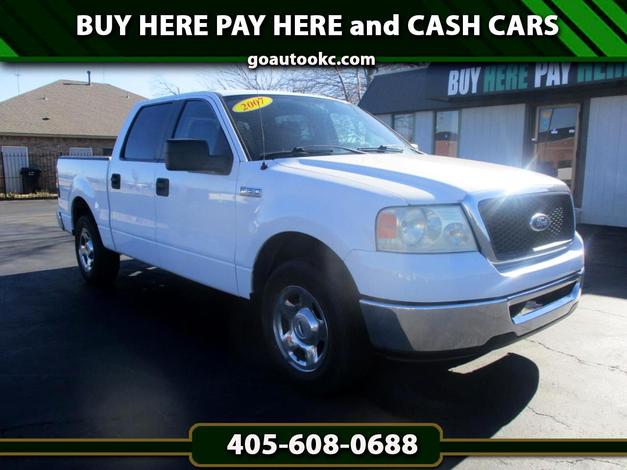 "Ford F-150 2WD SuperCrew 139"" XLT 2007"