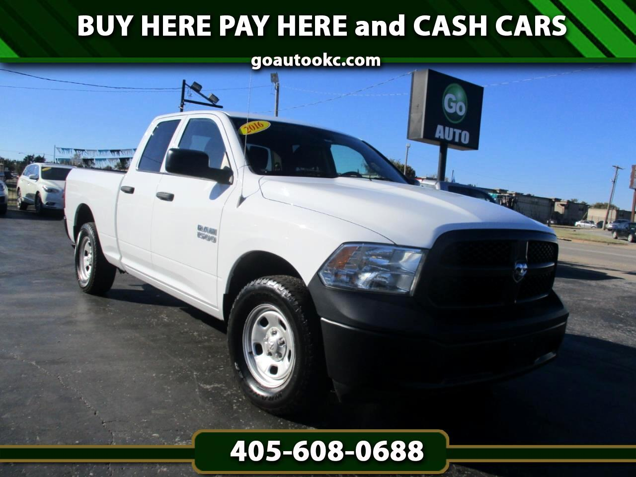Buy Here Pay Here Okc >> Buy Here Pay Here 2016 Ram 1500 Tradesman Quad Cab 4wd For