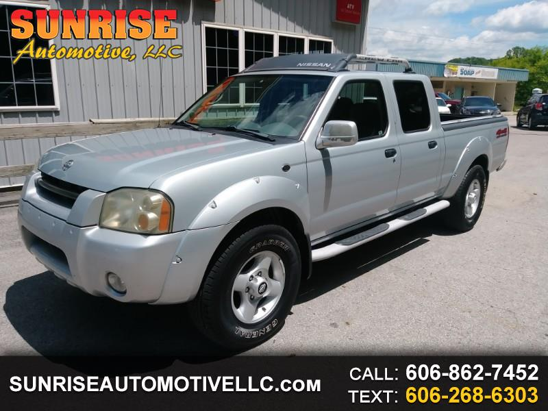 2002 Nissan Frontier SE-V6 Crew Cab Long Bed 4WD