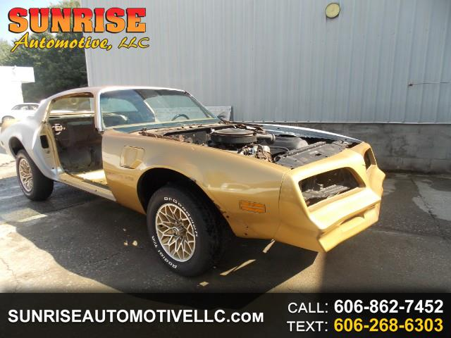 1978 Pontiac Firebird 2dr Coupe Trans Am