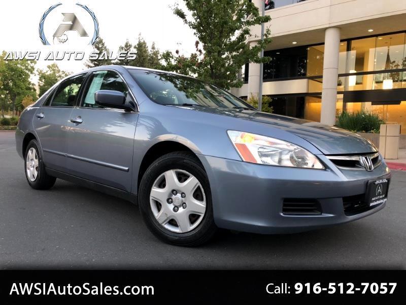 2007 Honda Accord LX sedan AT