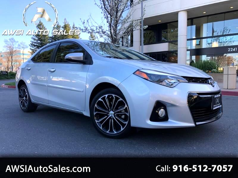 2014 Toyota Corolla S Plus 6MT