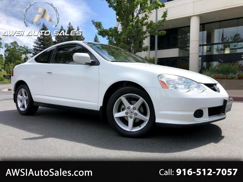 2004 Acura RSX Coupe with 5-speed AT