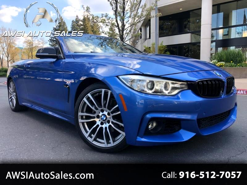 BMW 4-Series 428i SULEV Convertible 2015