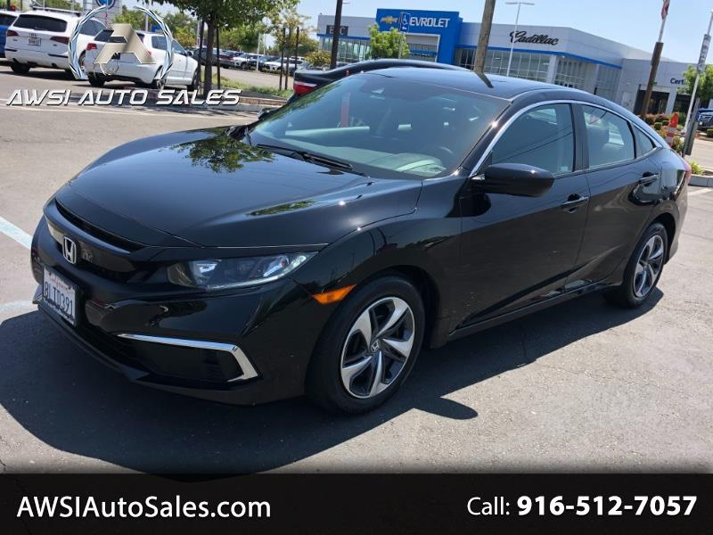 Honda Civic LX Honda Sensing Sedan CVT 2019