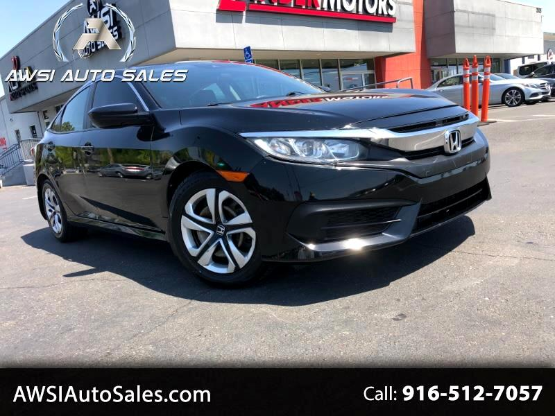 Honda Civic LX Honda Sensing Sedan CVT 2017