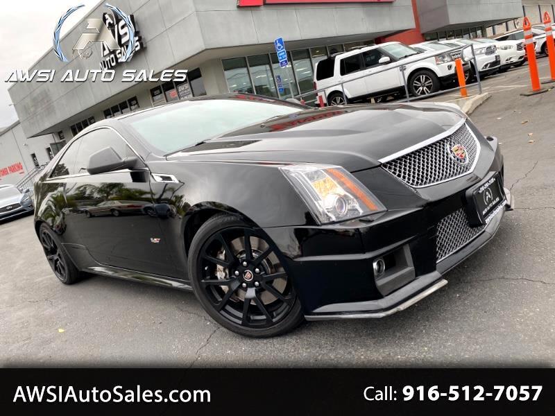Cadillac CTS V Coupe 2011