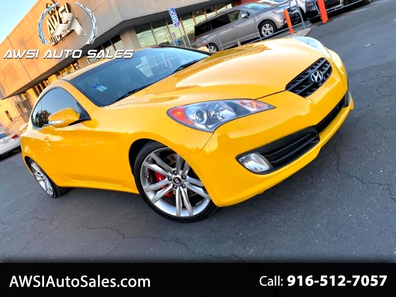 Hyundai Genesis Coupe 3.8 Track Manual 2012