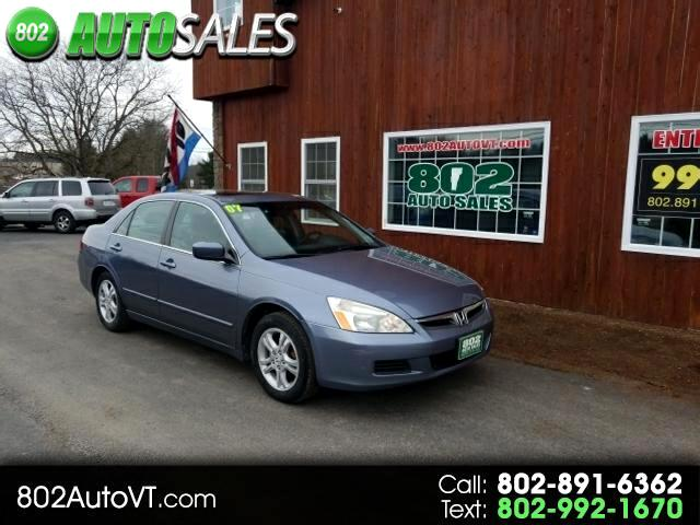 2007 Honda Accord EX-L Sedan AT