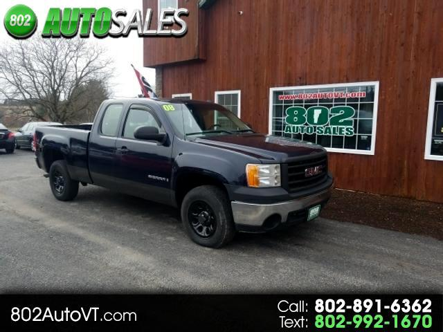 2008 GMC Sierra 1500 Ext. Cab Short Bed 2WD