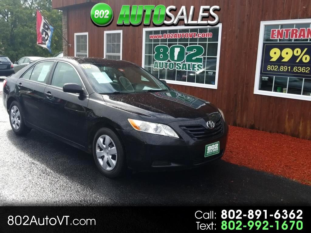 2008 Toyota Camry 4dr Sdn I4 Man LE (Natl)