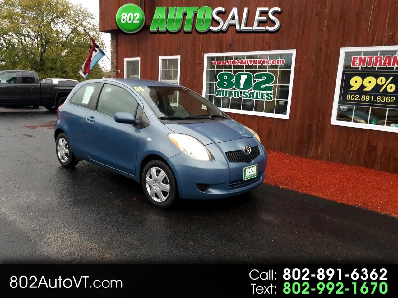2008 Toyota Yaris 3dr HB Man (Natl)