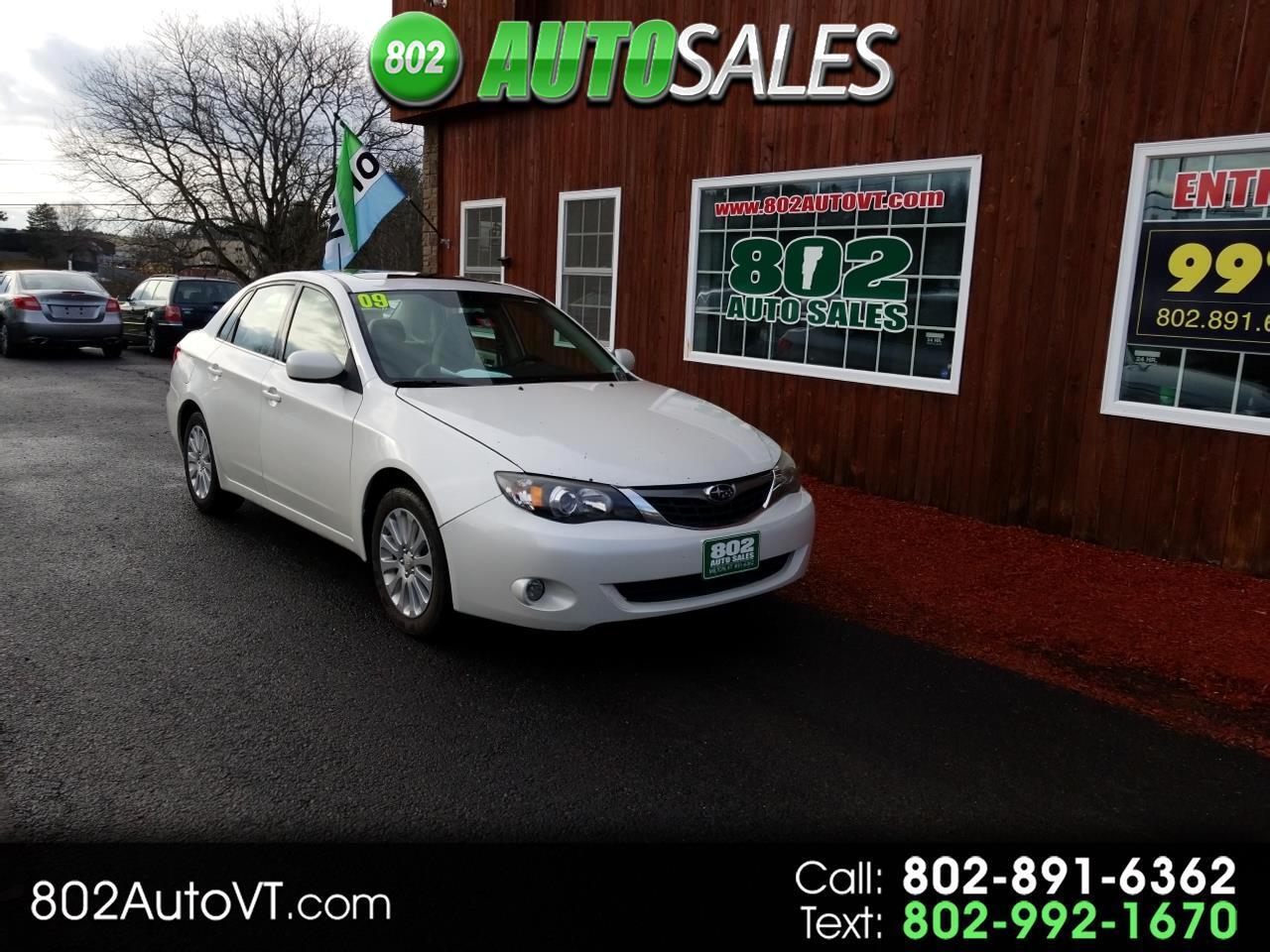2009 Subaru Impreza Sedan 4dr Auto i w/Premium Pkg