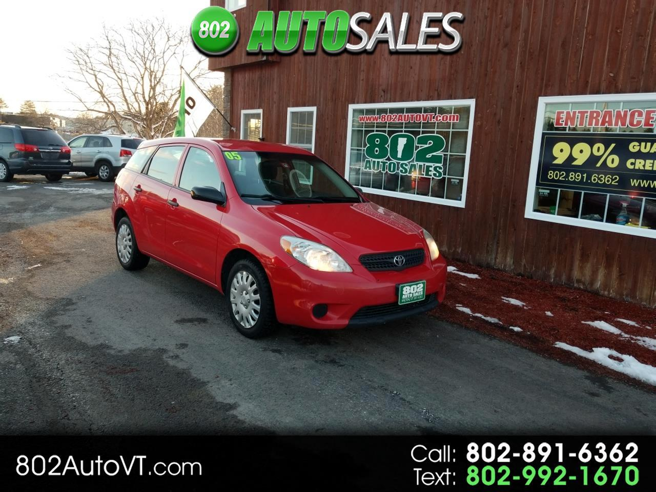 2005 Toyota Matrix 5dr Wgn STD Auto (Natl)