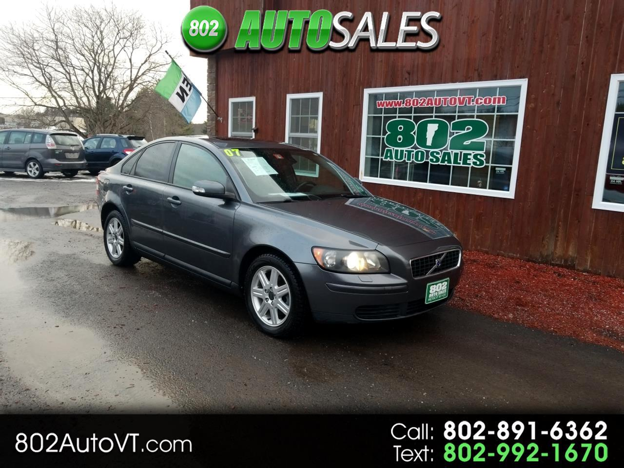 2007 Volvo S40 4dr Sdn 2.4L AT FWD