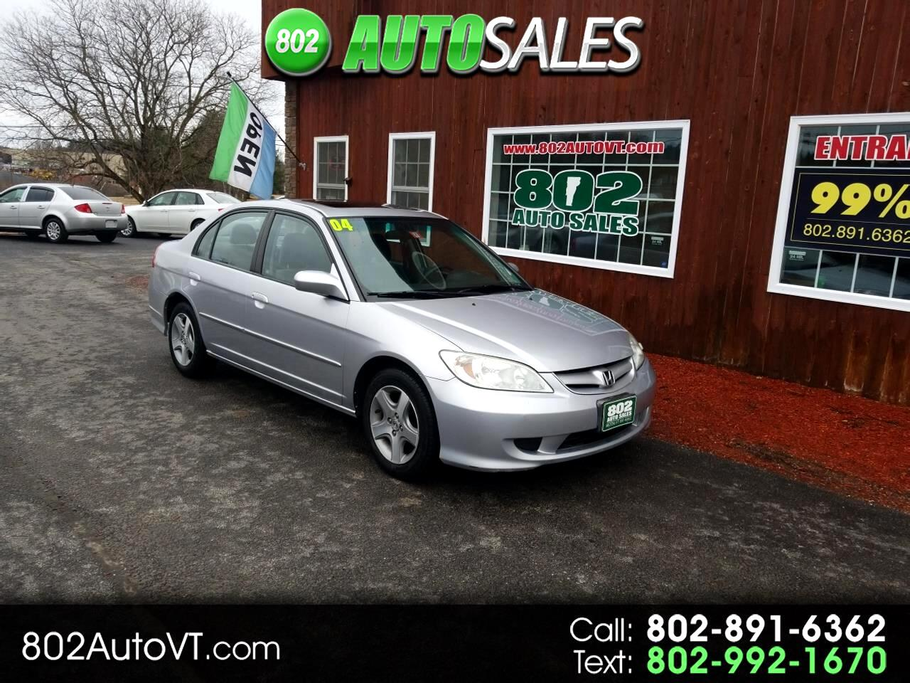 2004 Honda Civic 4dr Sdn EX Manual