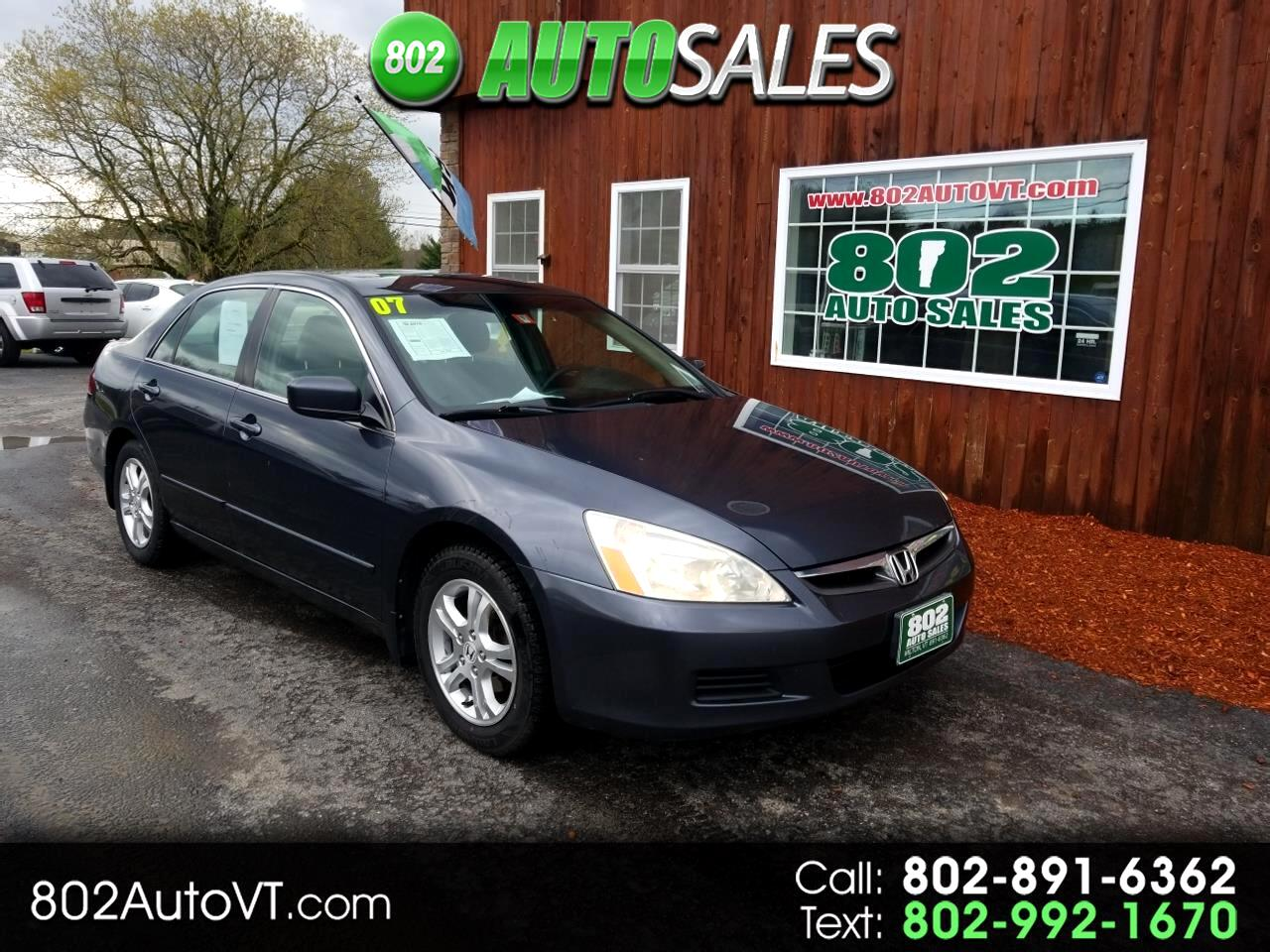 2007 Honda Accord Sdn 4dr I4 AT LX SE
