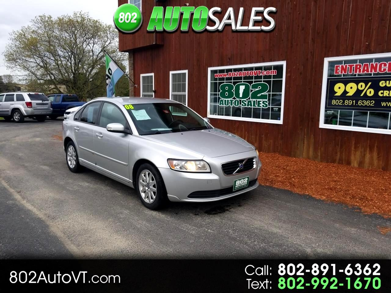 2008 Volvo S40 4dr Sdn