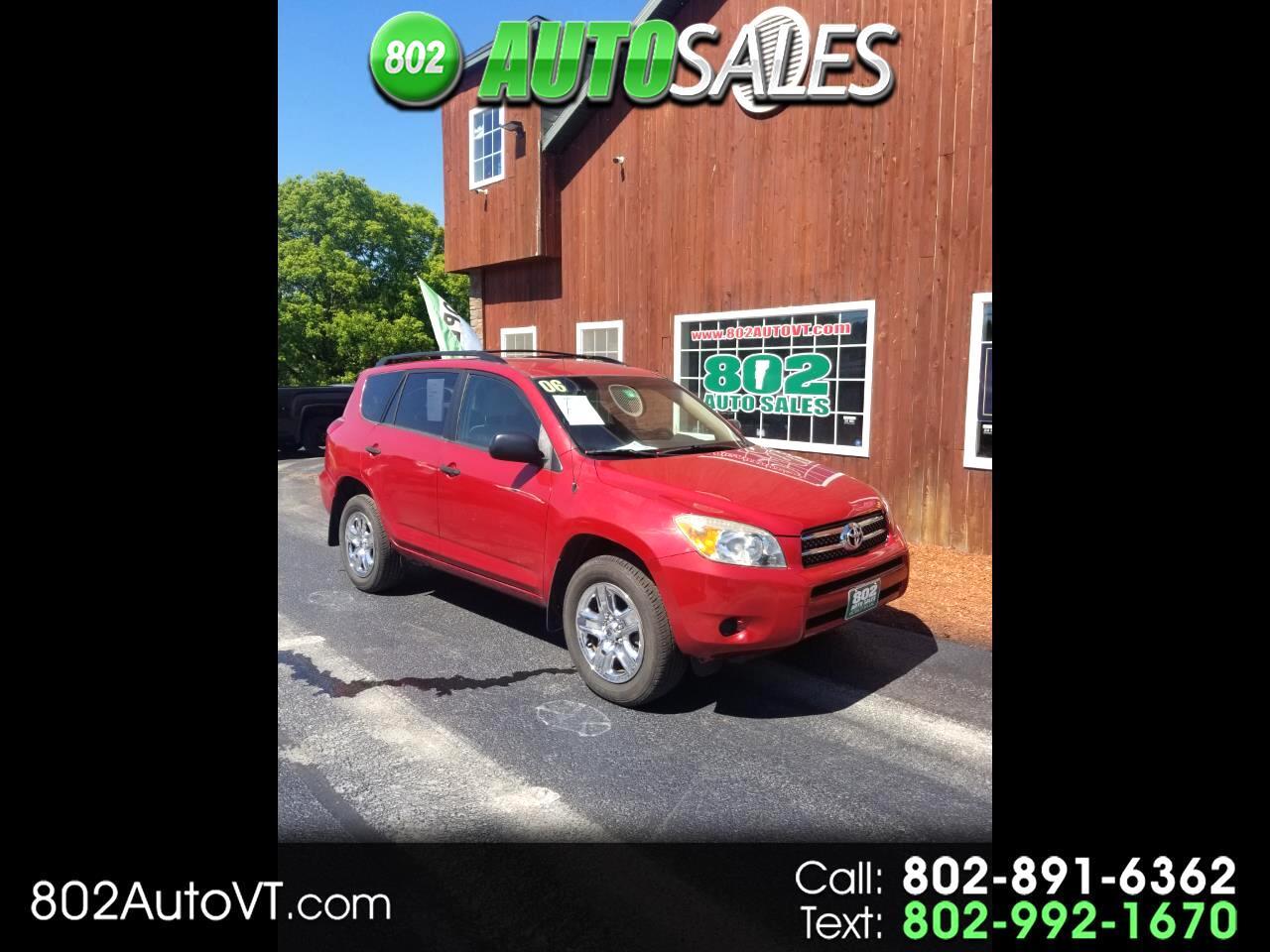 2006 Toyota RAV4 4dr Base 4-cyl 4WD (Natl)