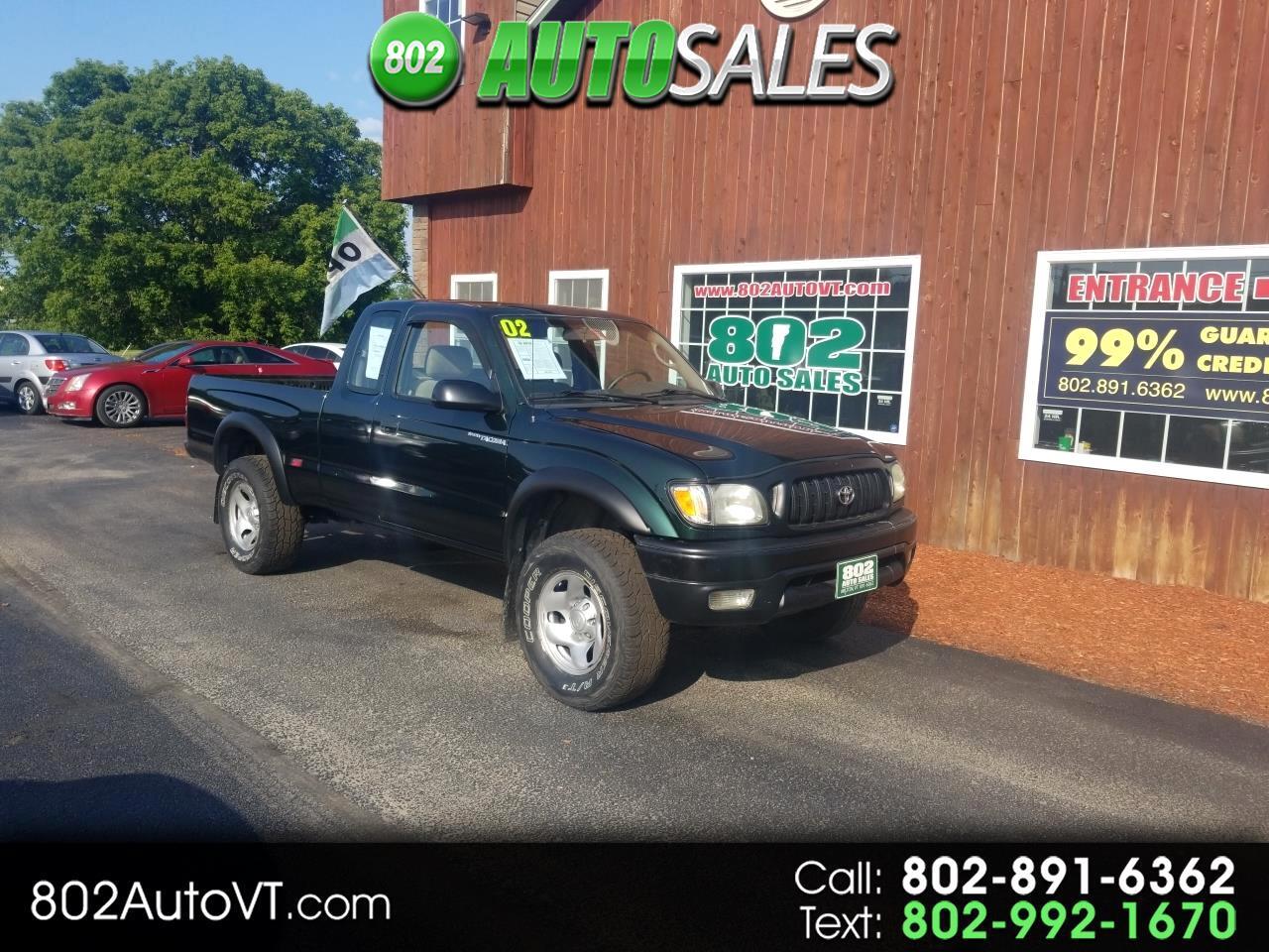 2002 Toyota Tacoma XtraCab Auto 4WD (Natl)