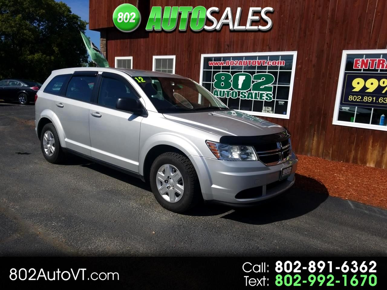 Dodge Journey FWD 4dr American Value Pkg 2012