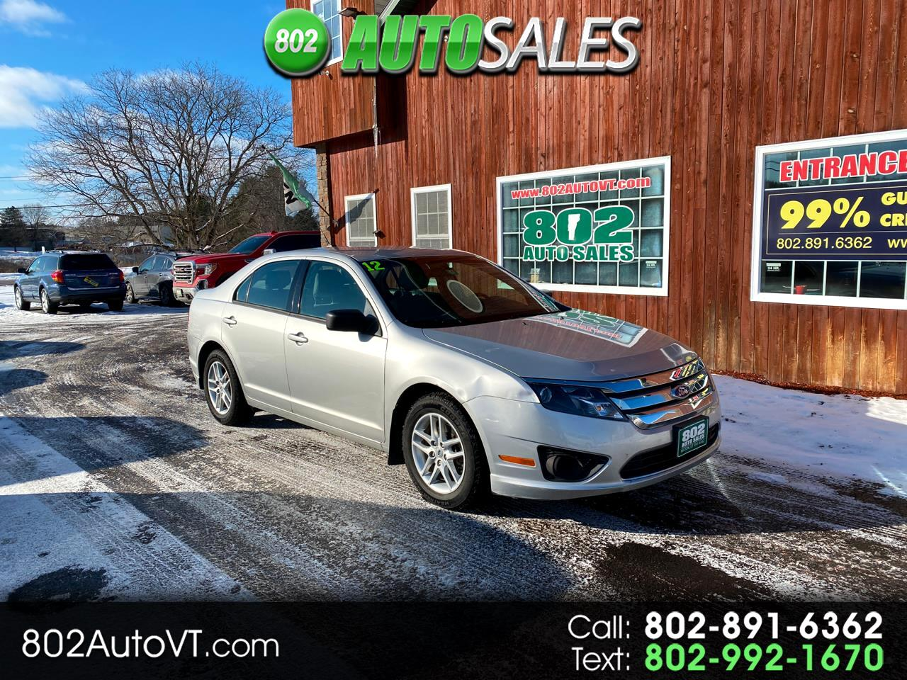 Ford Fusion 4dr Sdn S FWD 2012