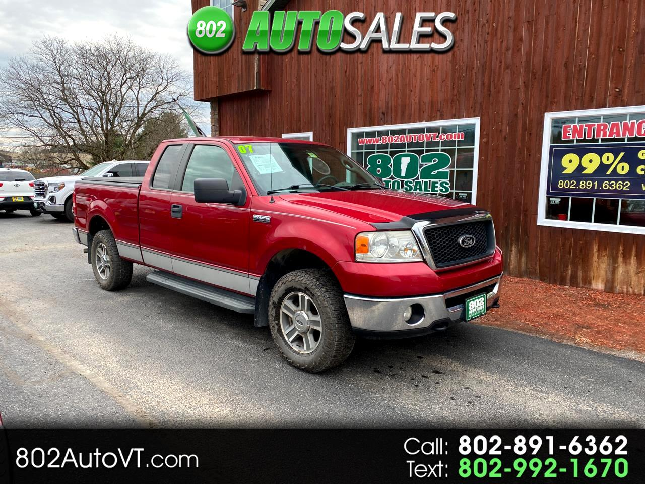 "Ford F-150 4WD SuperCab 133"" XLT 2007"