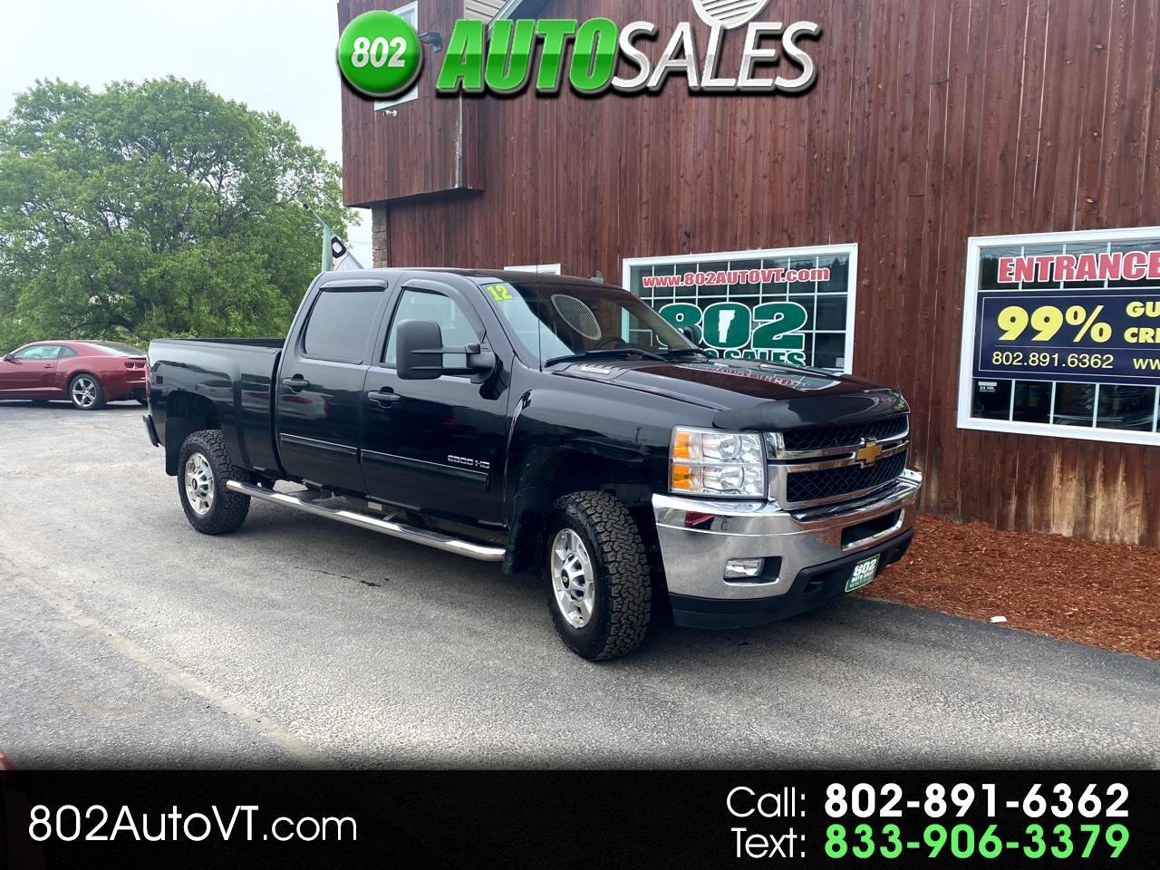 """Chevrolet Silverado 2500HD 2WD Crew Cab 153.7"""" LT 2012"""