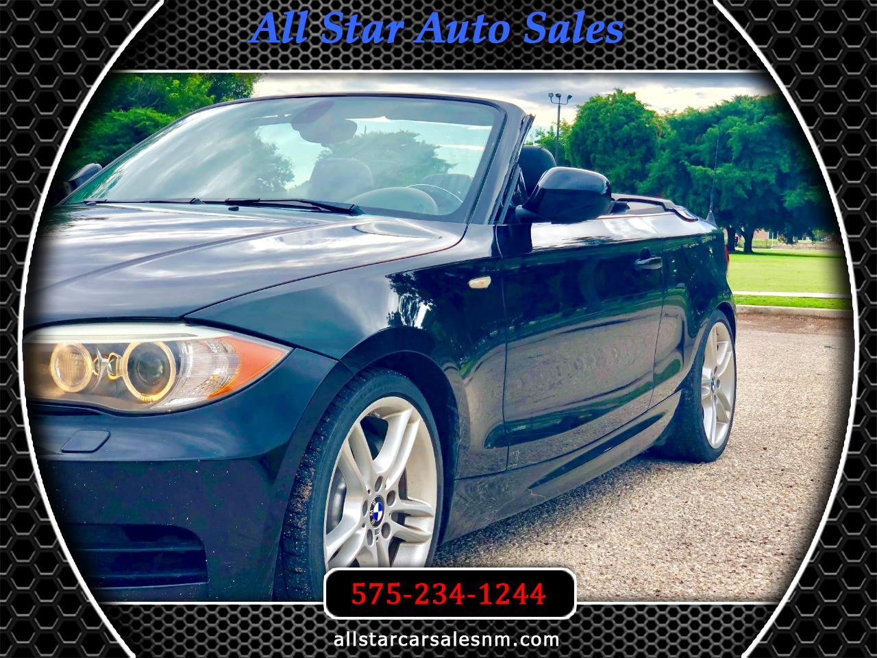 BMW 1-Series 135i Convertible 2012
