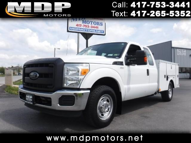 2012 Ford F-250 SD SUPER CAB UTILITYBED