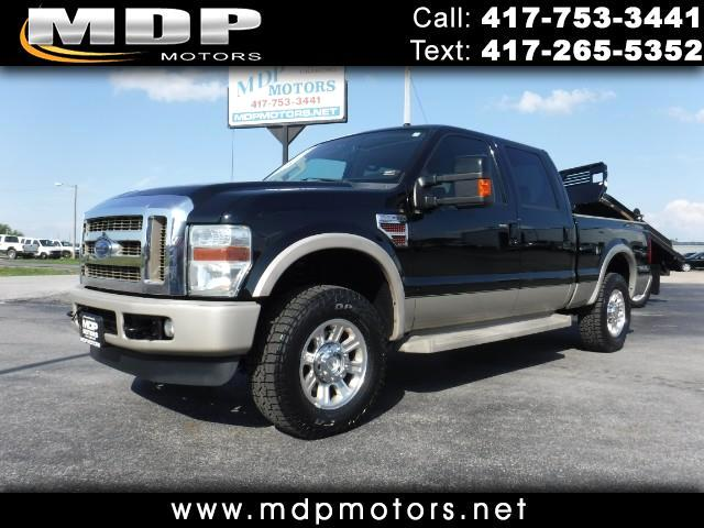2008 Ford F-250 SD CREW/SHORT 4X4 DIESEL KING RANCH